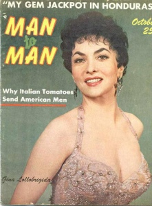 Gina Lollobrigida 1957 Magazine Cover
