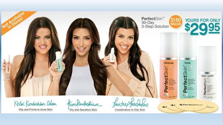 Kardashian Portfolio Graphic