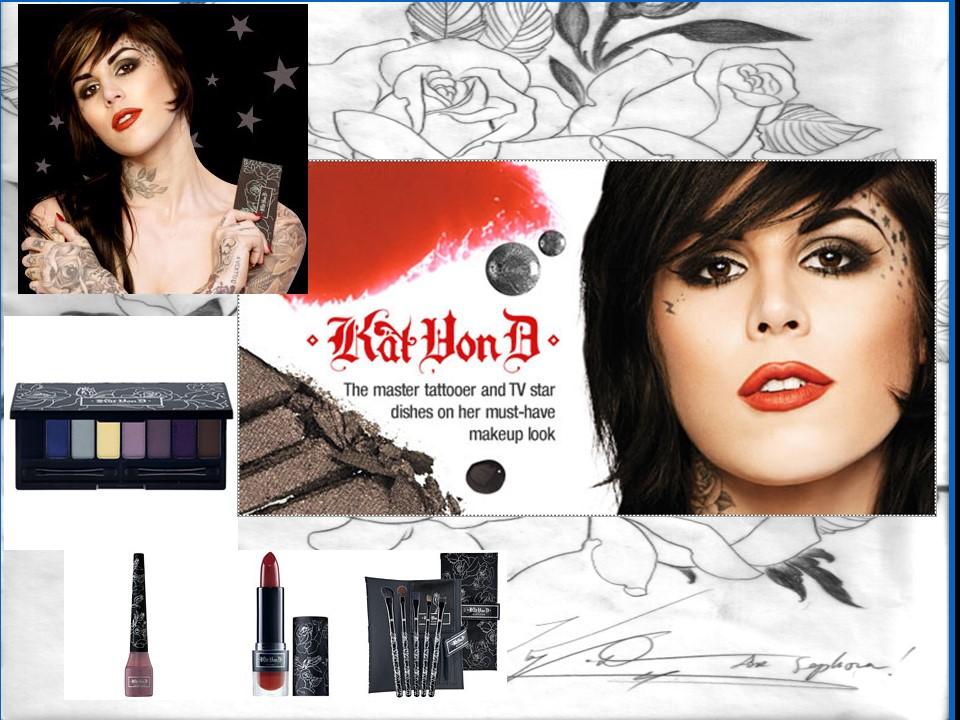Kat von D Portfolio Page