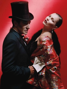 John Galliano with Kate Moss PR Social Media Crisis