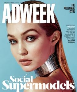Adweek Cover Gigi Haddad