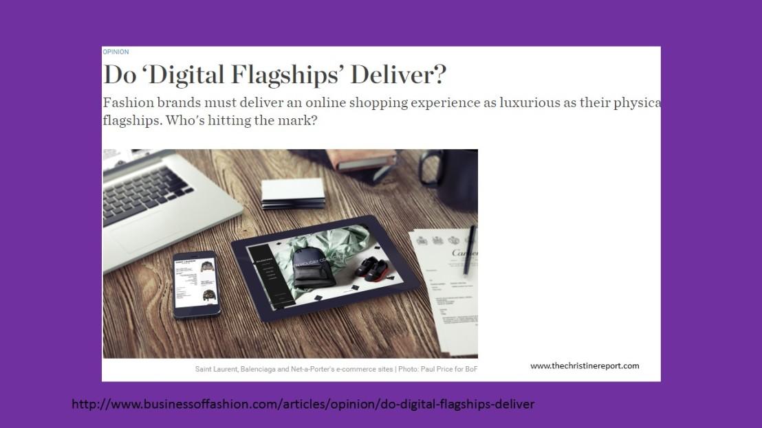 Do Digital Flagships Deliver?  See Who Does!
