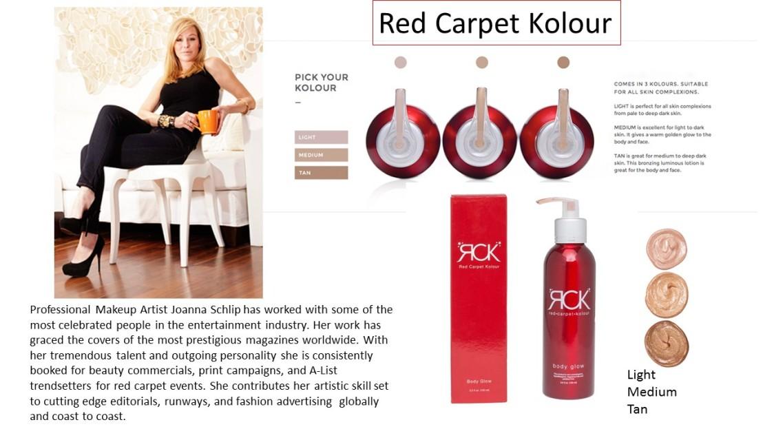 Brand Representation: Red CarpetKolour