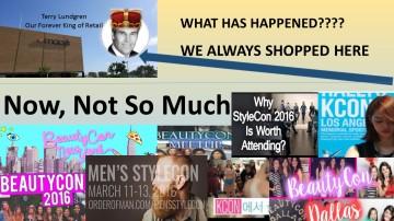 Macy's Terry Lundgren Beautycon Men's Stylecon KCon Stylecon Indie Beauty Social Shopping Festival Events