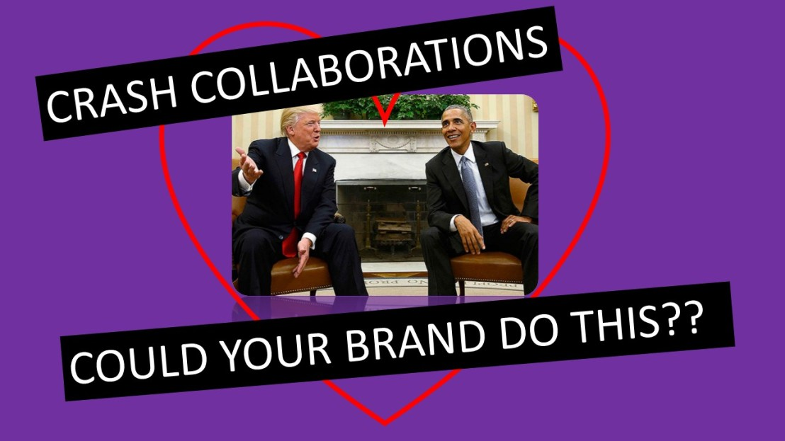 Crash Collaboration-Could Your Brand Successfully Collaborate At This Level???