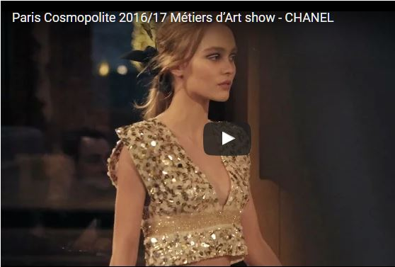 Chanel and Karl Lagerfeld's Metiers d'Art Show 2016 - 2017 The fashion and the attitude are amazing, chic fashion in the most breezy spirit. Too chic.