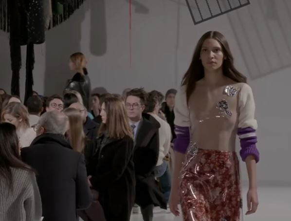 Raf Simons 1st Calvin Klein Show featured by Joe Zee in Twitter