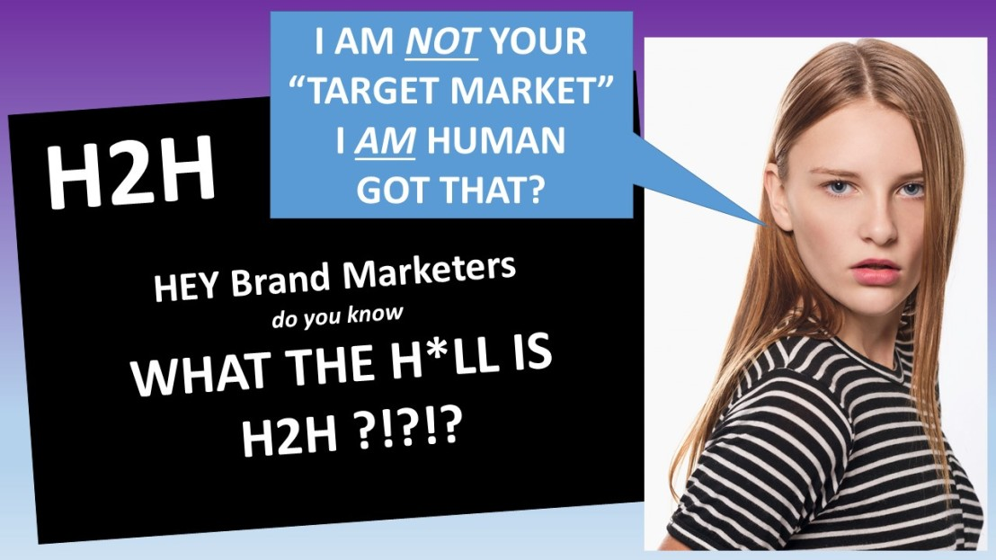 Human to Human Marketing is The Digital Marketing Brand Promise Delivered