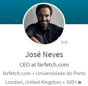 Jose Neves on LinkedIn-the Creator of Farfetch