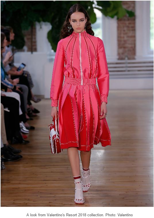 Valentino Resort 2018 with Socks and Anklets is So AMAZING!!