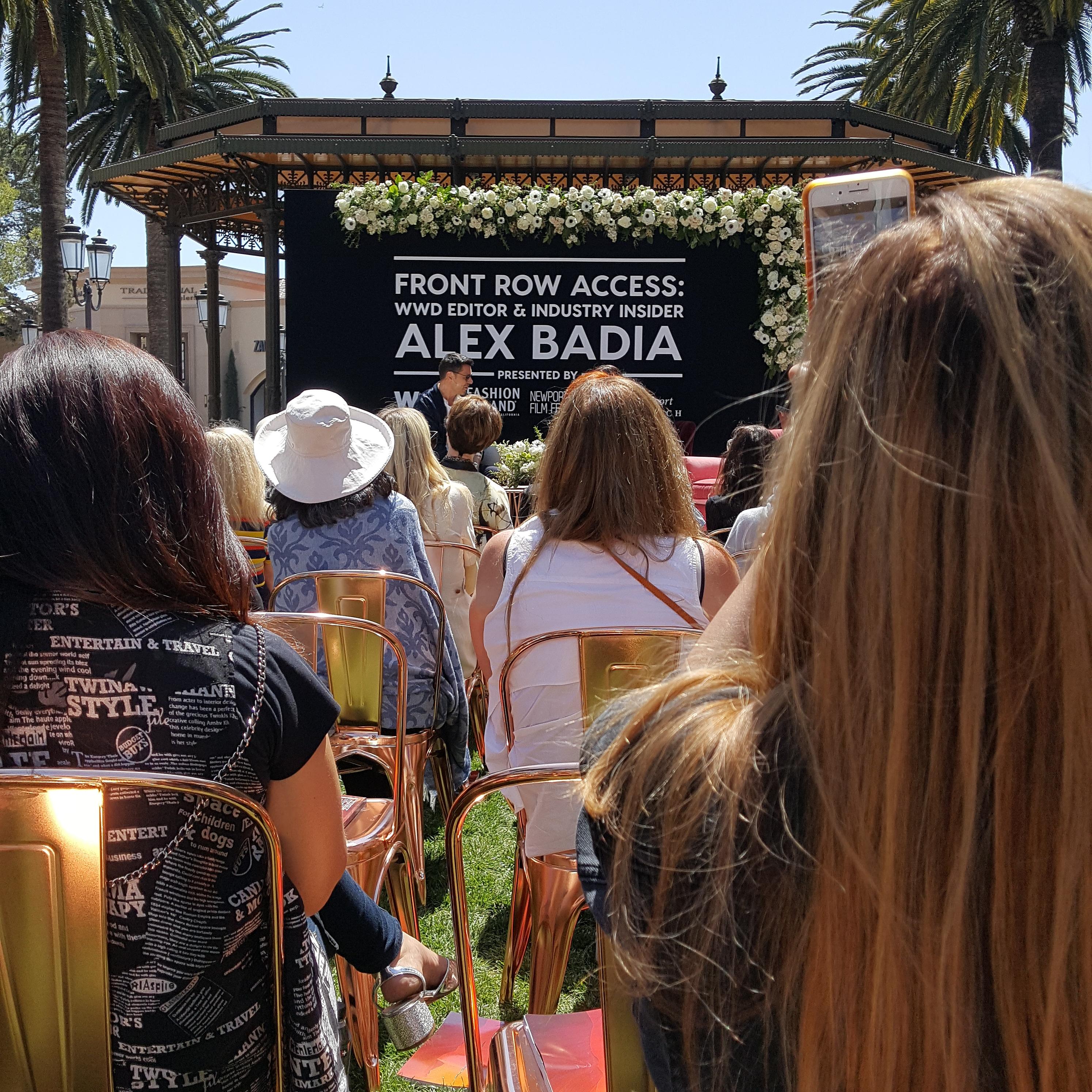 WWD Alex Badia Event