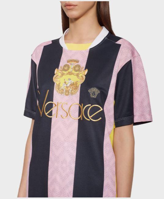 Versace Logo Team T Shirt