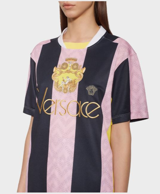 Versace Logo Team T Shirt
