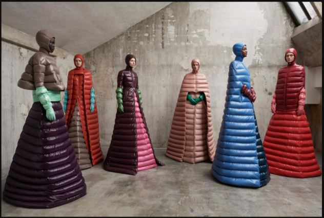 Moncler Genius Project Installation
