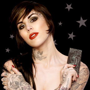 Kat von D makeup colllection with Sephora press photo