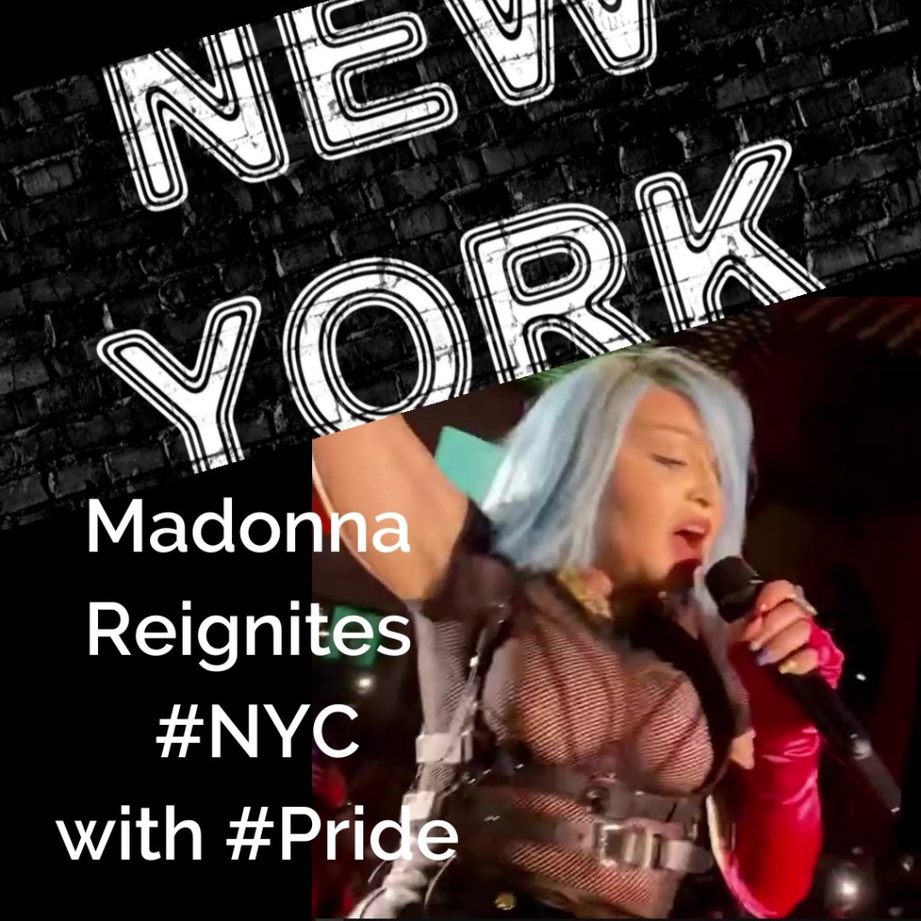 Sometimes we look hard for new beginnings and cannot see them. Other times, they steamroll right in. Unexpected but totally welcome it seems. How exciting it must have been to get this surprise performance at The Standard's Boom Boom Room during the Boom x Pride event in New York City.www.TheChristineReport.com